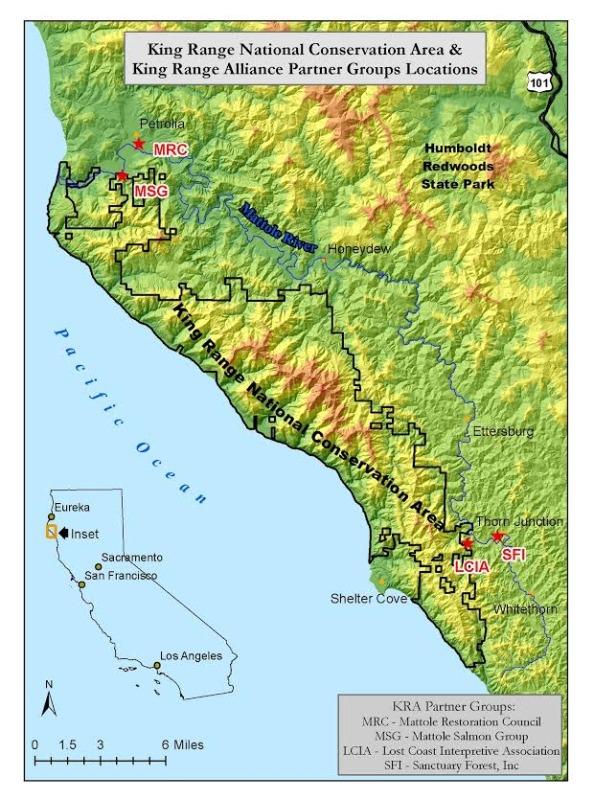 KRA map